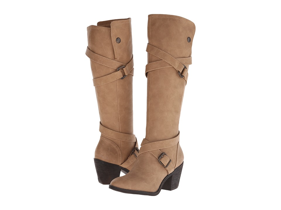 Blowfish - Snaps (Sand Texas PU) Women's Pull-on Boots