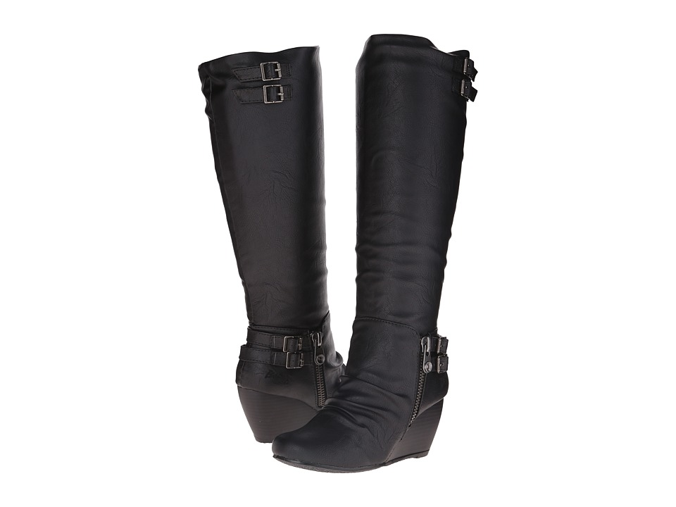 Blowfish - Brooven (Black Old Saddle PU) Women's Boots