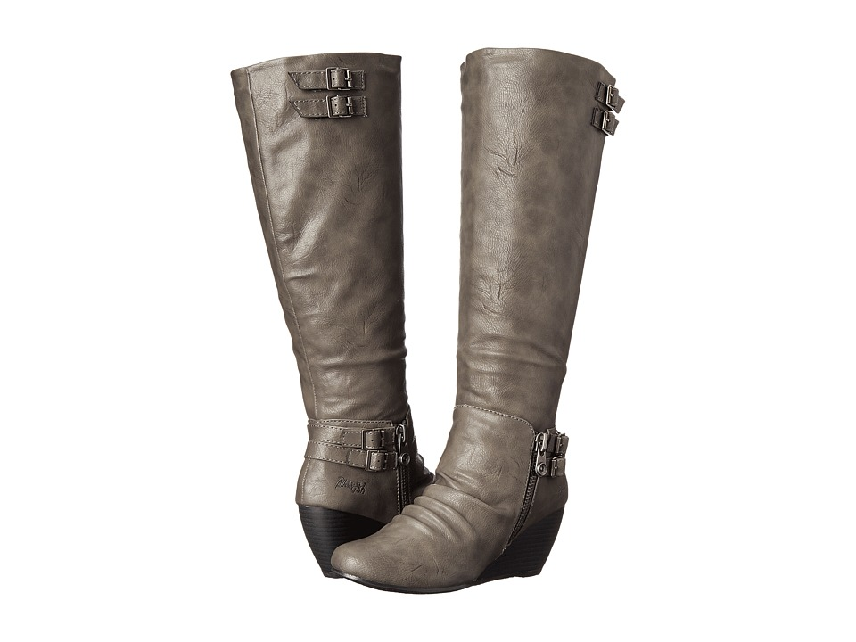 Blowfish - Brooven (Grey Old Saddle PU) Women's Boots