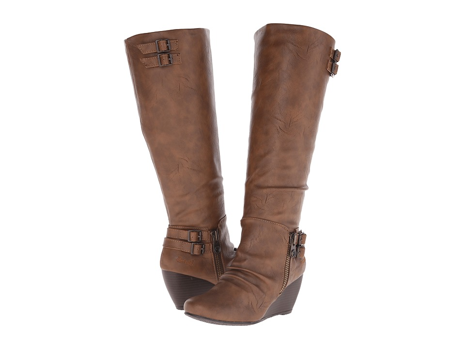 Blowfish - Brooven (Whiskey Old Saddle PU) Women's Boots