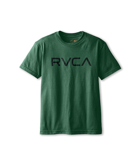 RVCA Kids - Big RVCA (Big Kids) (Foliage) Boy's T Shirt
