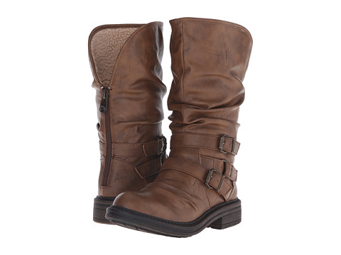 Blowfish - Felix SHR (Whiskey Old Saddle PU) Women's Zip Boots