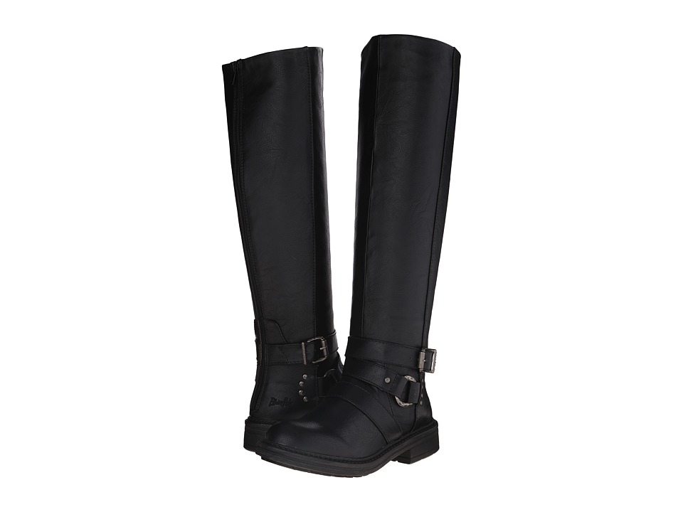 Blowfish - Frost (Black Old Saddle PU) Women's Zip Boots