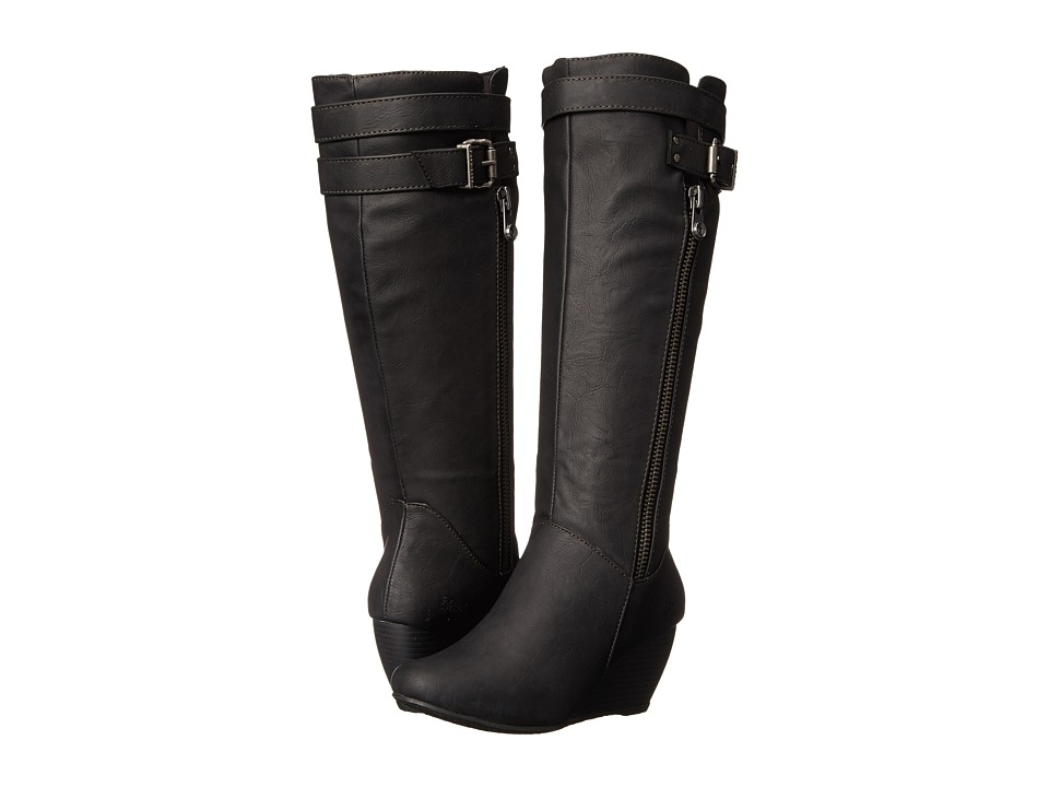 Blowfish - Billis (Black Texas PU) Women's Zip Boots