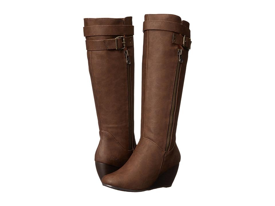 Blowfish - Billis (Coffee Texas PU) Women's Zip Boots