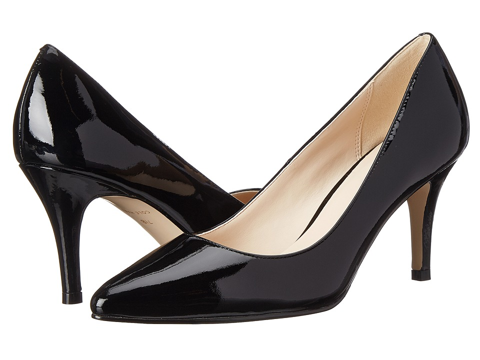 Cole Haan - Juliana Pump 75mm (Black Patent) High Heels