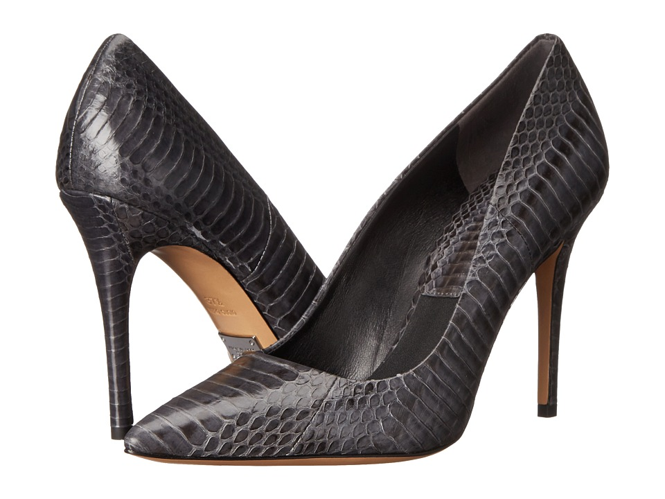 Michael Kors - Aarons (Graphite Genuine Snake) High Heels