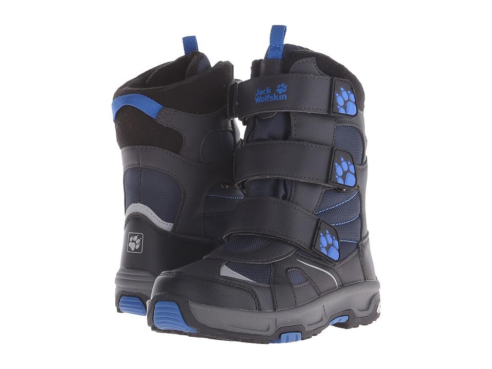 Jack Wolfskin Kids - Snow Diver Waterproof (Big Kid) (Night Blue) Boy's Shoes