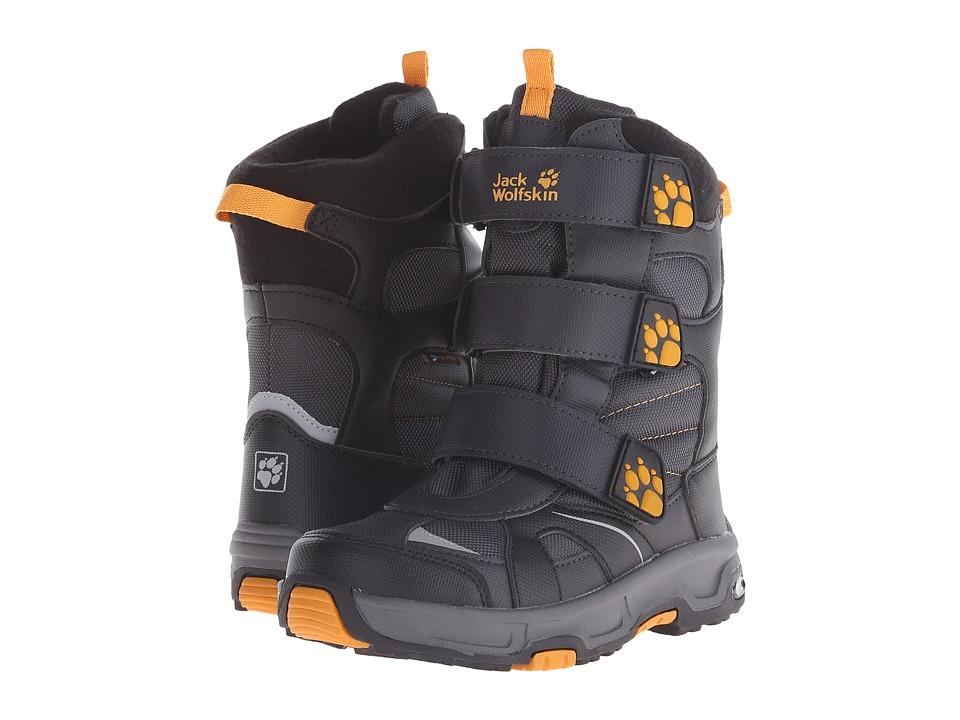 Jack Wolfskin Kids - Snow Diver Waterproof (Big Kid) (Dark Steel) Boy's Shoes