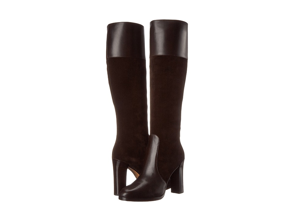 Michael Kors Daryl (Chocolate Soft Calf/Sport Suede) Women