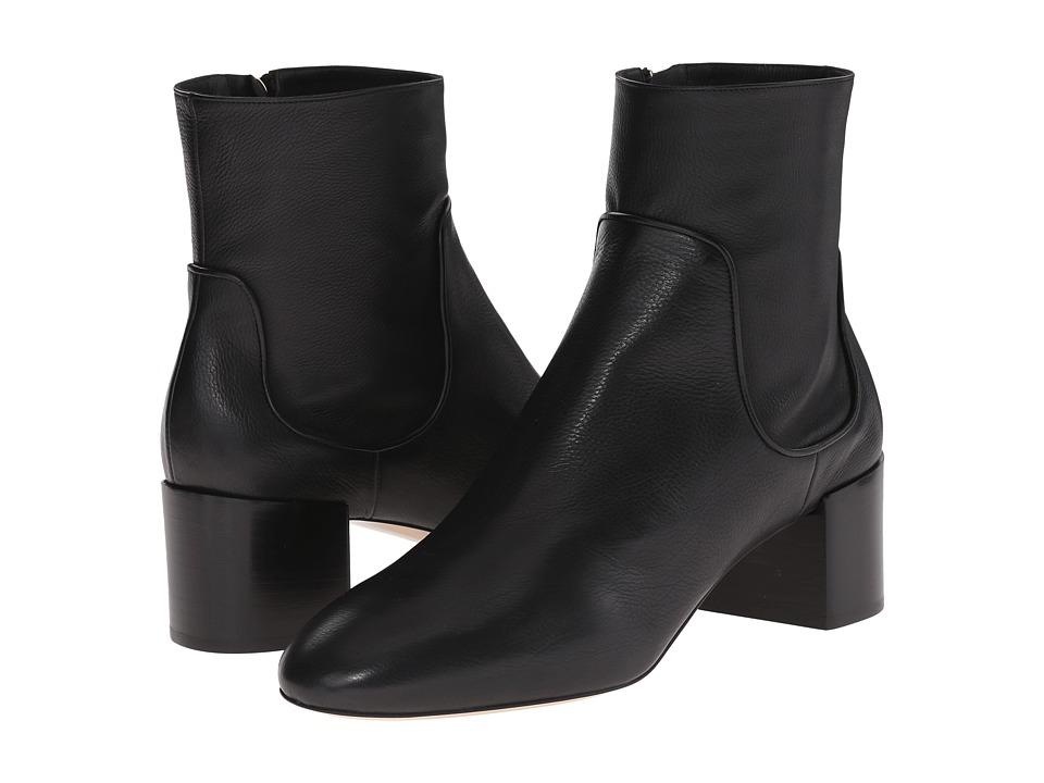 Michael Kors Erin (Black Tumbled Leather) Women