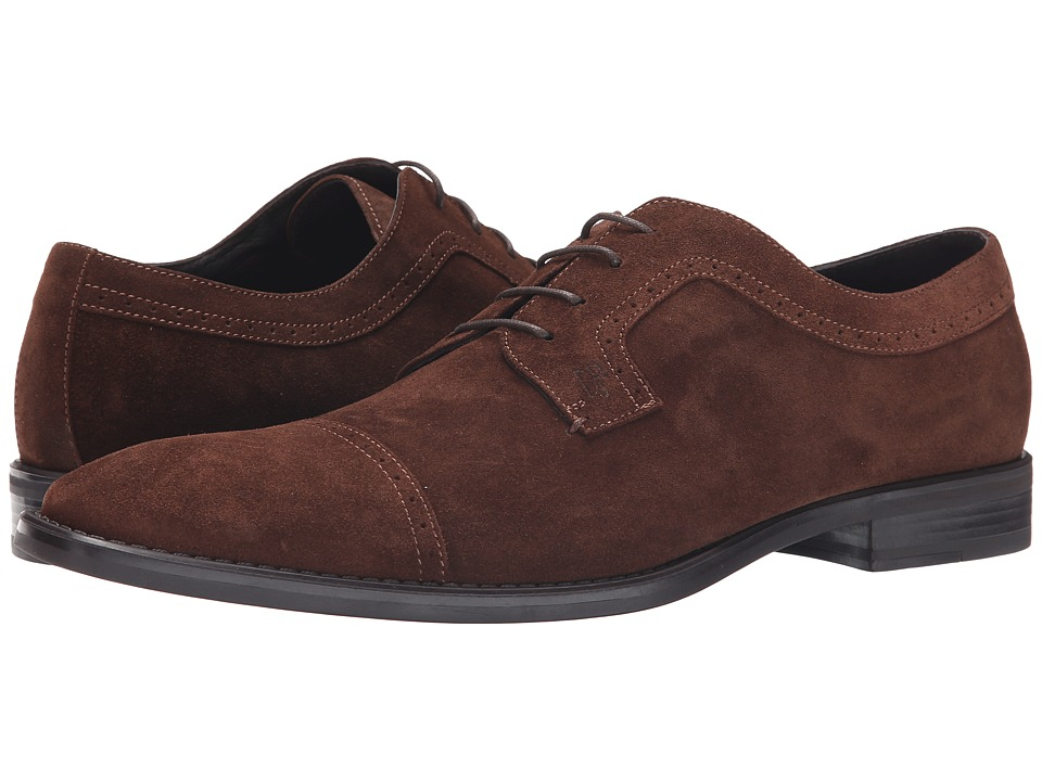Donald J Pliner - Boss (Brown) Men's Lace up casual Shoes