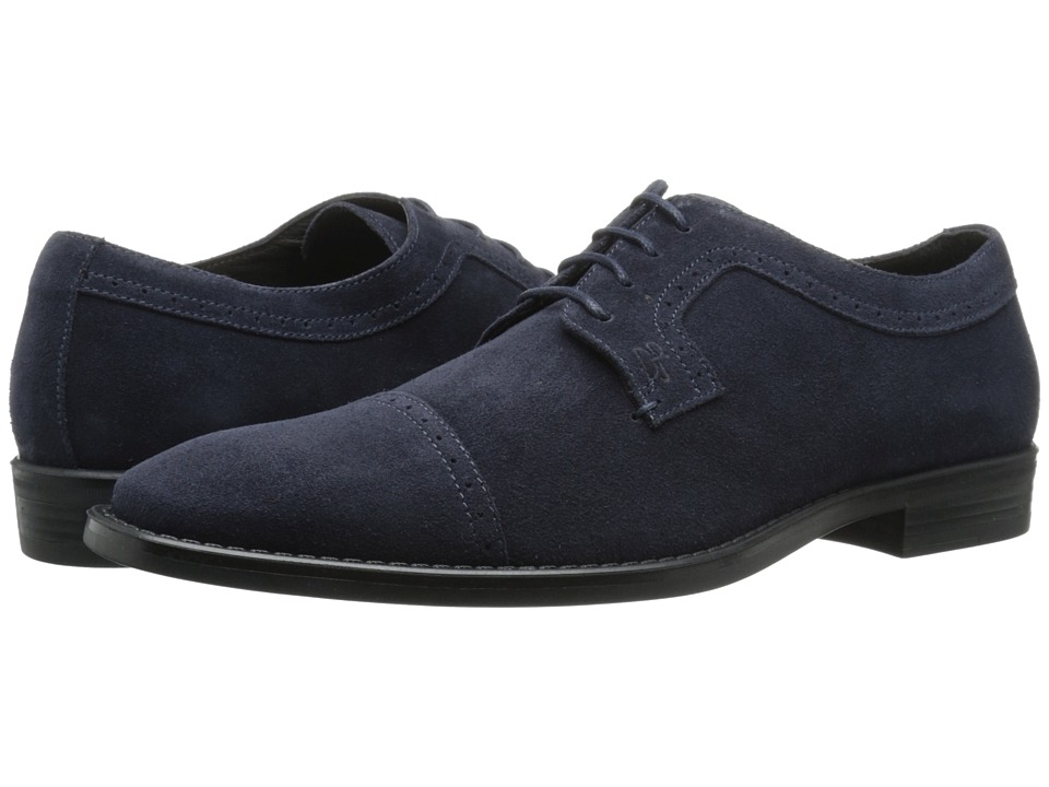 Donald J Pliner - Boss (Navy) Men's Lace up casual Shoes