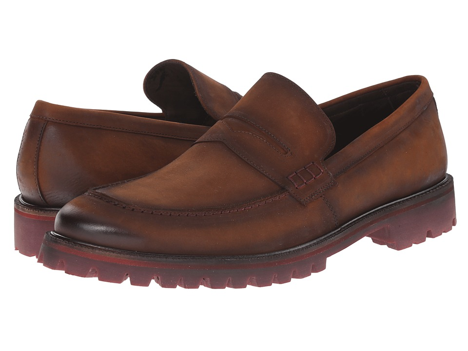 Donald J Pliner - Elton (Brown) Men's Slip on Shoes