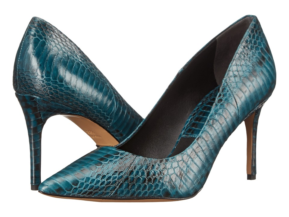 Michael Kors Garner (Peacock Genuine Snake) High Heels