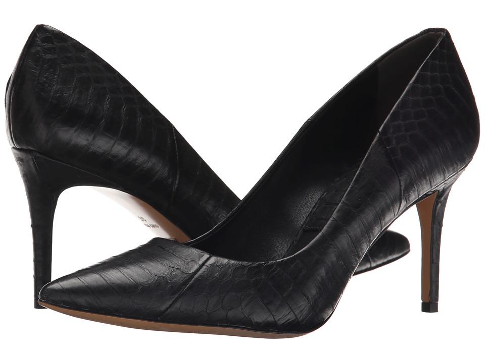 Michael Kors - Garner (Black Solid Matte Gen Snake) High Heels