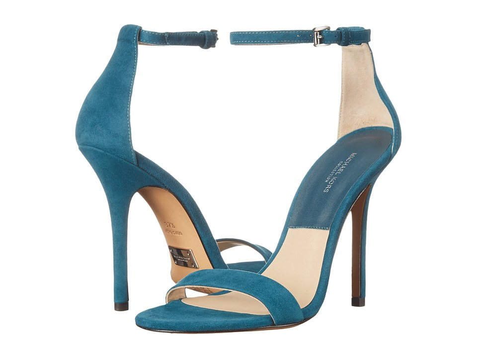 Michael Kors - Jacqueline (Peacock Kid Suede) High Heels