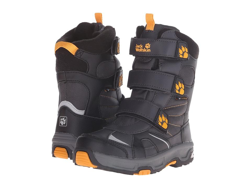 Jack Wolfskin Kids - Snow Diver Waterproof (Little Kid/Big Kid) (Dark Steel) Boy's Shoes