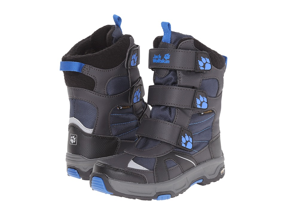 Jack Wolfskin Kids - Snow Diver Waterproof (Little Kid/Big Kid) (Night Blue) Boy's Shoes