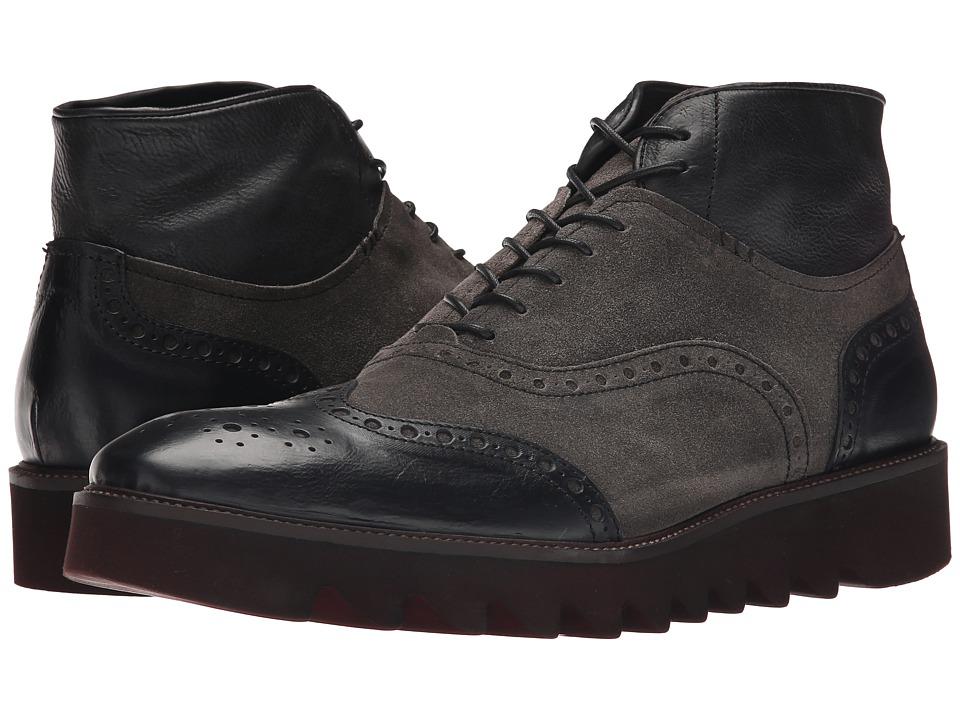 Donald J Pliner - Stu (Black) Men's Boots