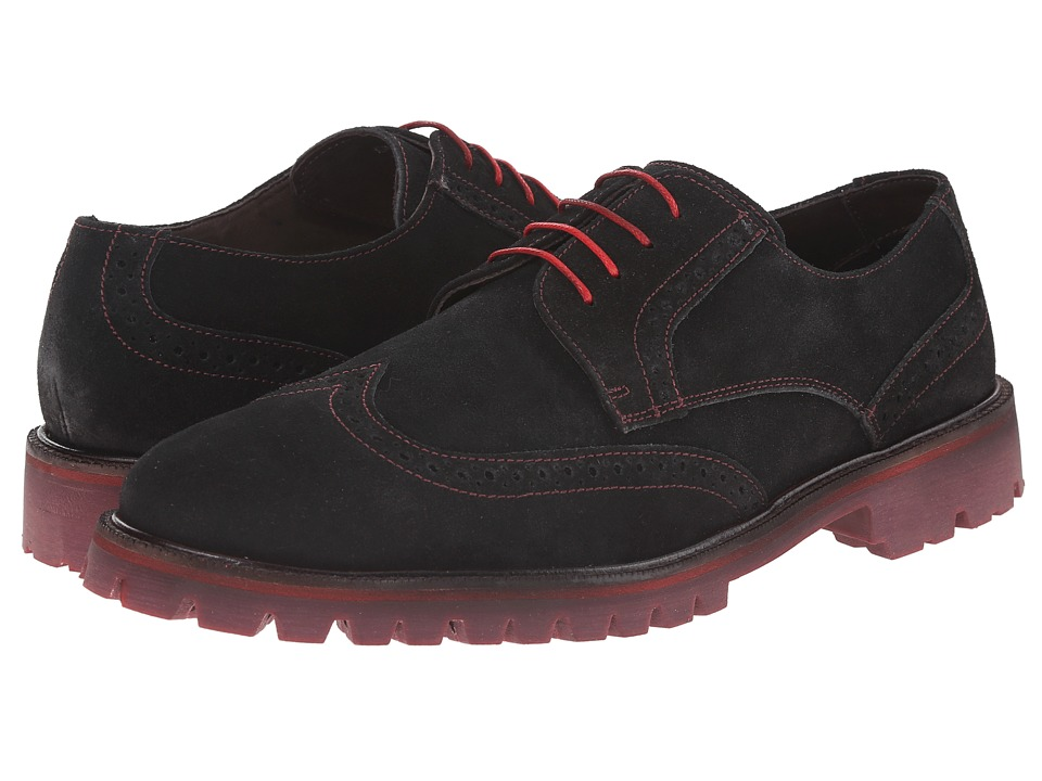 Donald J Pliner - Eric (Black) Men's Lace up casual Shoes