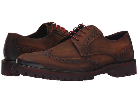 Donald J Pliner - Eric (Brown) Men's Lace up casual Shoes