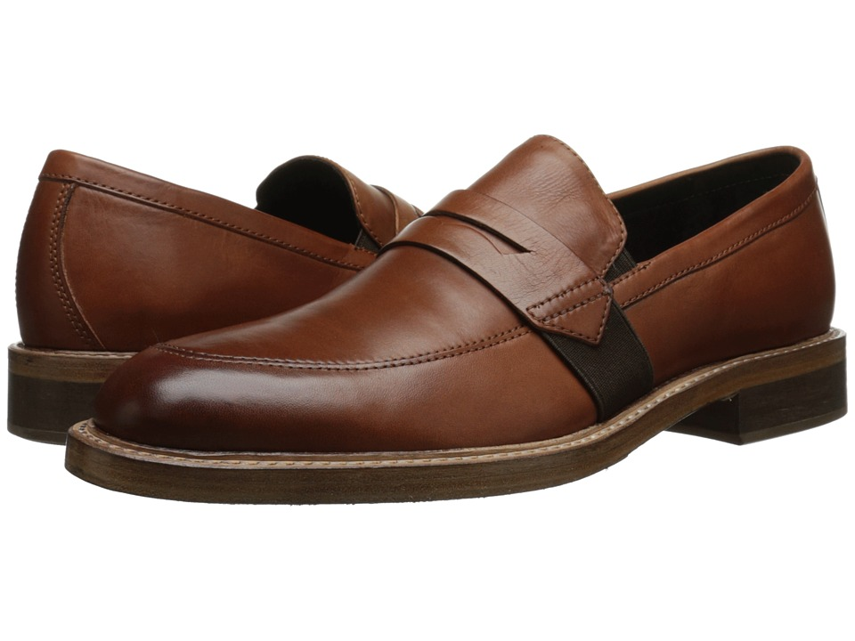 Donald J Pliner - Zac (Tan) Men's Slip on Shoes