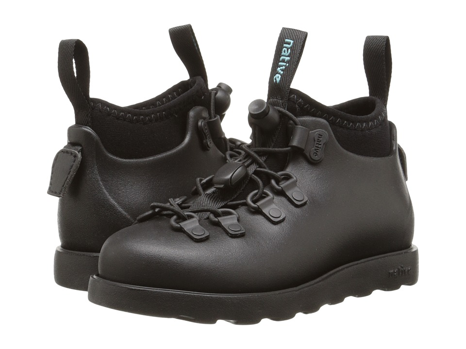 Native Kids Shoes - Fitzsimmons (Toddler/Little Kid) (Jiffy Black/Jiffy Black) Kids Shoes