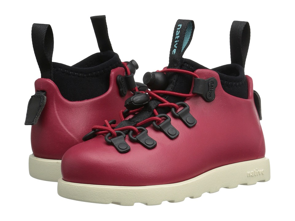 Native Kids Shoes - Fitzsimmons (Toddler/Little Kid) (Fire Truck Red/Bone White) Kids Shoes