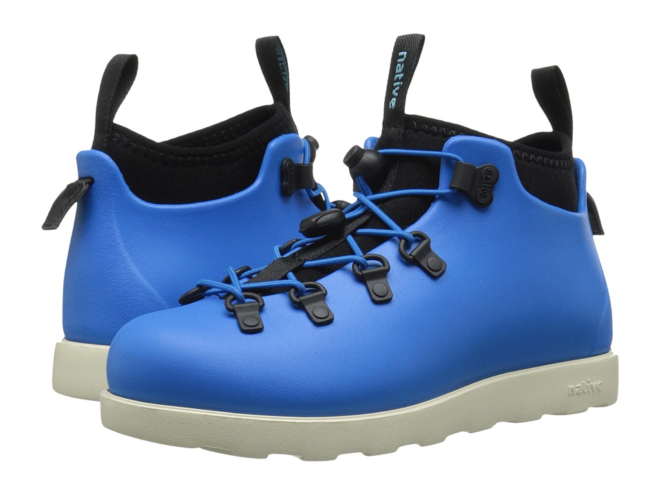 Native Kids Shoes - Fitzsimmons (Little Kid) (MegaMarine Blue/Bone White) Kids Shoes