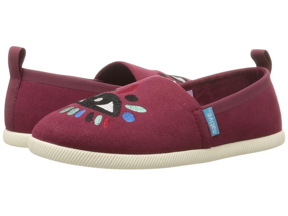 Native Kids Shoes Venice Embroidered (Toddler/Little Kid) (Cavalier/Bone/Lyni Eye) Girls Shoes