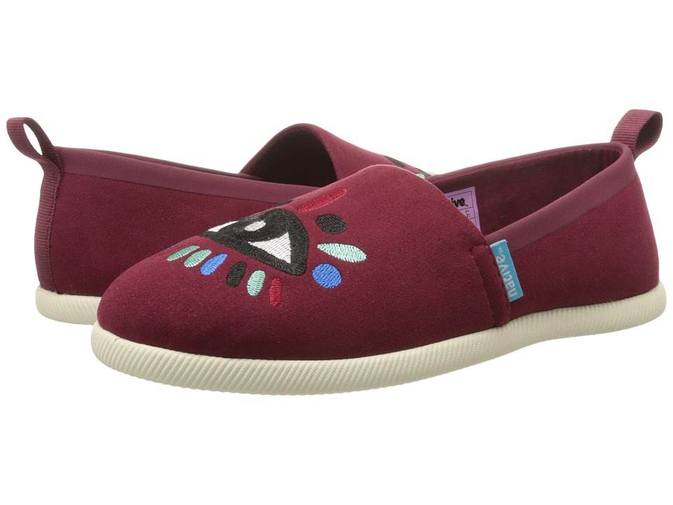 Native Kids Shoes - Venice Embroidered (Little Kid) (Cavalier/Bone/Lyni Eye) Girls Shoes
