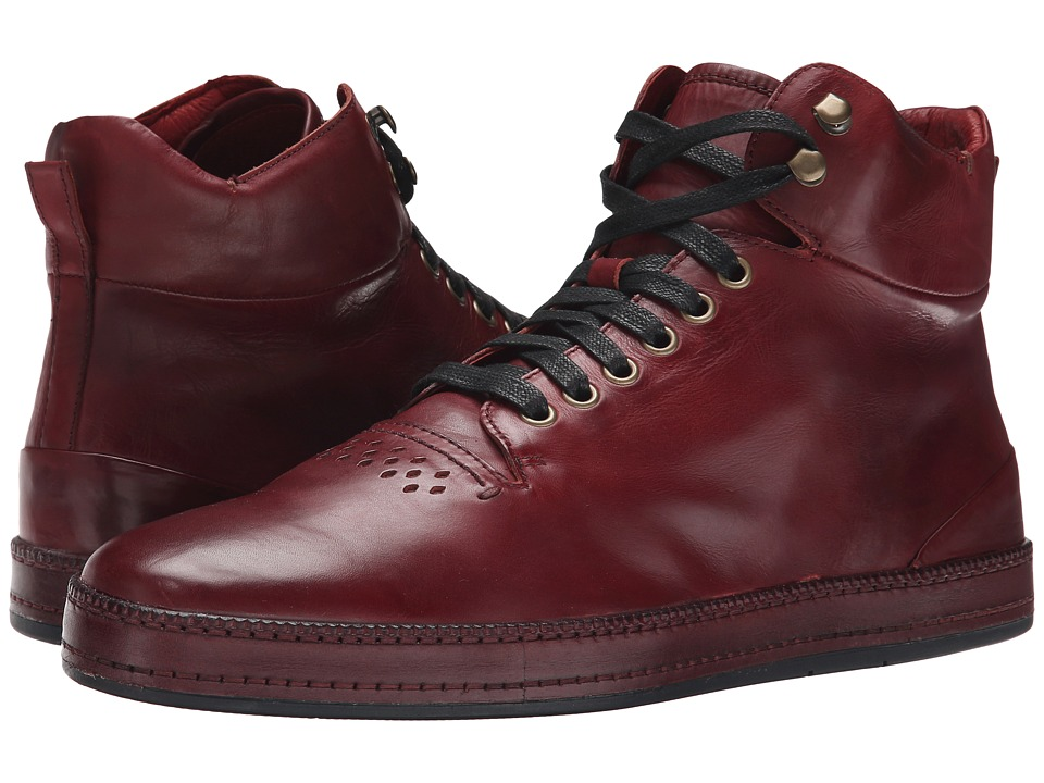Donald J Pliner - Jonas (Oxblood) Men's Lace up casual Shoes