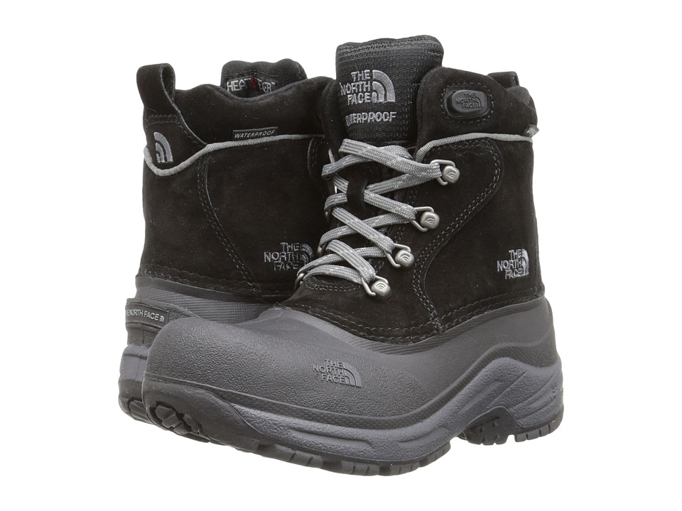 The North Face Kids - Chilkat Lace (Toddler/Little Kid/Big Kid) (TNF Black/Zinc Grey) Boys Shoes
