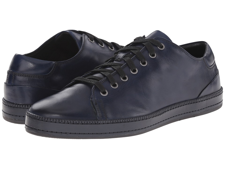 Donald J Pliner - Jagar (Navy) Men's Lace up casual Shoes