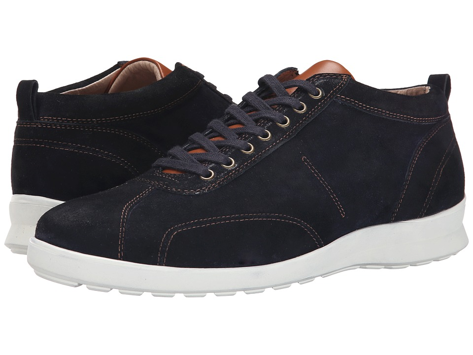 Donald J Pliner - Homer (Navy) Men's Lace up casual Shoes