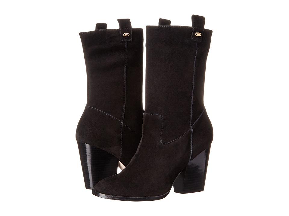 Cole Haan - Nightingale Bootie (Black Suede) Women's Pull-on Boots