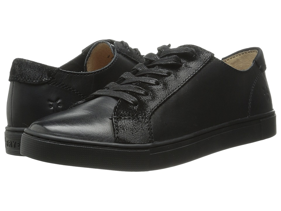 Frye - Gemma Low Lace (Black Veg Tan/Oiled Suede) Women's Lace up casual Shoes