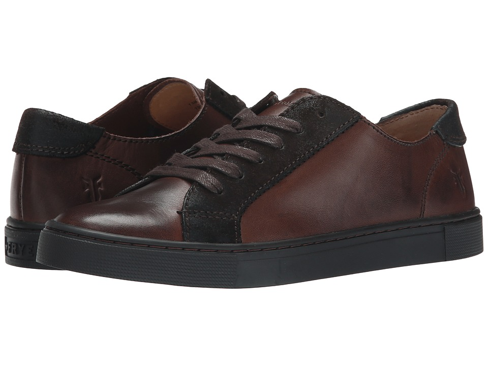 Frye - Gemma Low Lace (Espresso Veg Tan/Oiled Suede) Women's Lace up casual Shoes