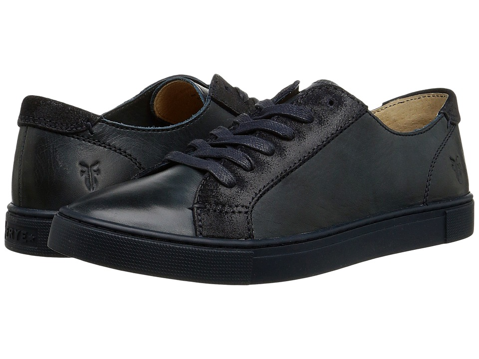 Frye - Gemma Low Lace (Navy Veg Tan/Oiled Suede) Women's Lace up casual Shoes