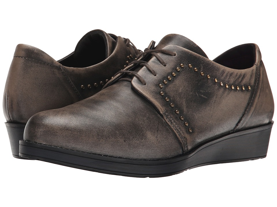 Naot Footwear - Embrace (Vintage Gray Leather) Women's Shoes