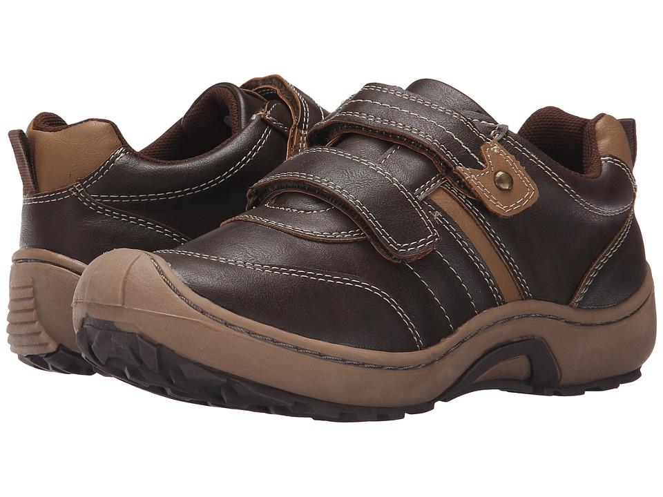 Jumping Jacks Kids - Mark (Toddler/Little Kid) (Dark Brown/Warm Brown) Boys Shoes
