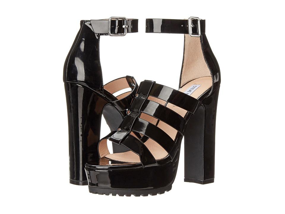 Steve Madden - Groove (Black Patent) Women's Shoes