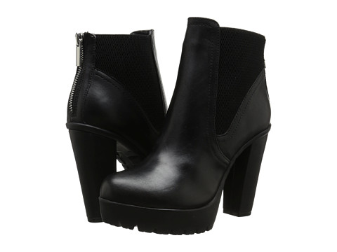 Steve Madden - Amandaa (Black Leather) Women
