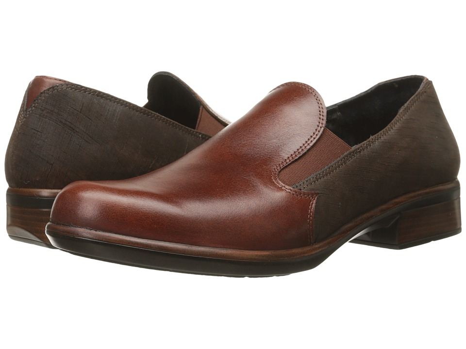 Naot Footwear - Ostro (Luggage Brown Leather/Mine Brown Leather) Women's Shoes
