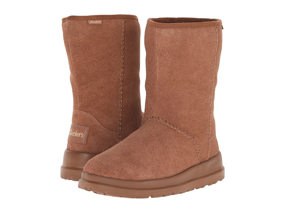SKECHERS - Cherish-Just Because (Chestnut) Women's Cold Weather Boots