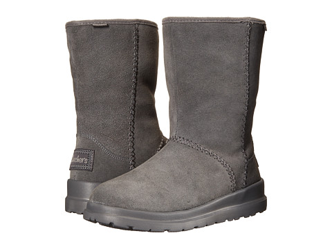 SKECHERS - Cherish-Just Because (Charcoal) Women's Cold Weather Boots