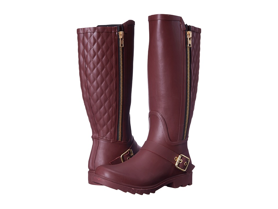 Steve Madden - Northpol (Burgundy) Women's Zip Boots