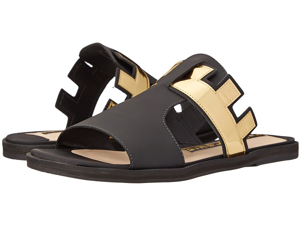 Kat Maconie - Bertie (Black/Gold) Women's Shoes