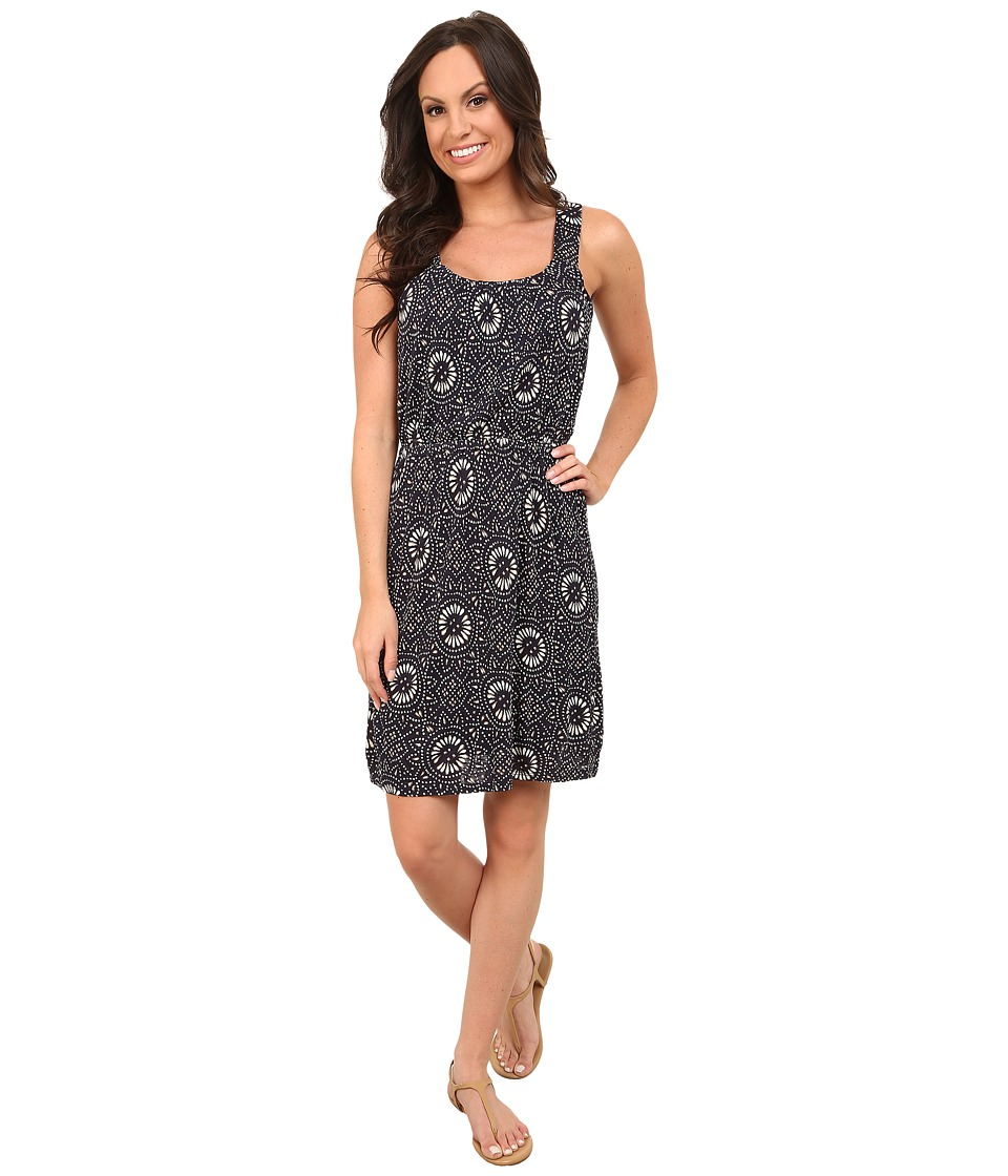 Lucky Brand - Batik Knit Dress (Navy Multi) Women's Dress